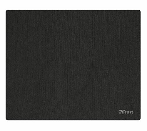 Trust Ziva muismat (afmetingen: 220 x 180 mm) zwart
