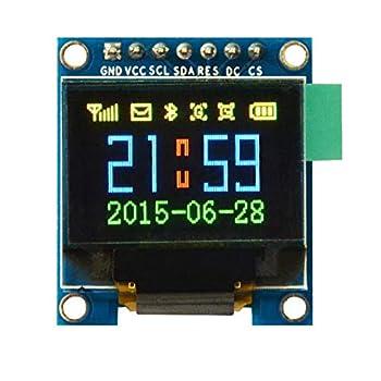 VKLSVAN 0.95インチ SPI OLEDディスプレイ SSD1331