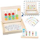 Sunarrive Montessori Spielzeug Holz Puzzle Sortierbox...