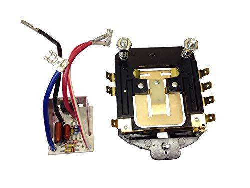Mezclador de pie con placa de control de velocidad y placa de fase 220 V. W11174552, WPW10119326. Compatible con mezcladores de 4.5QT y 5QT