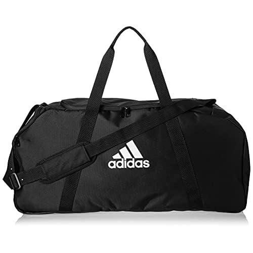 Adidas Tiro Duffel L Borsa sportiva Unisex - Adulto, Nero (Negro/Blanco), 70 x 32 x 32 cm