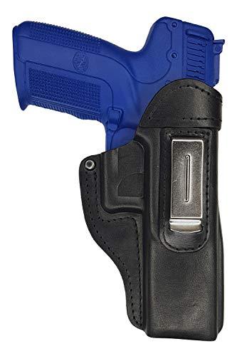 VlaMiTex IWB 7 Funda de Piel para Pistola FN FNX/Five Seven/FN FNS con cañón de 5 pouces