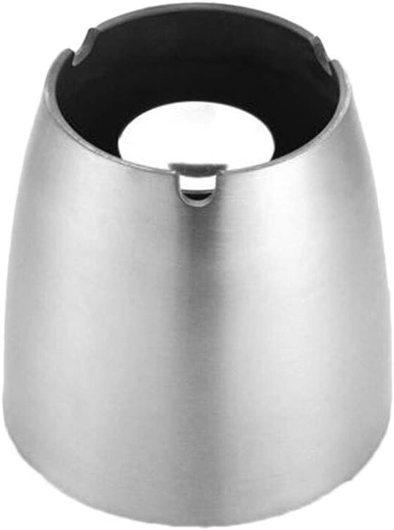 WFS Ashtray Thick Super popular specialty store Stainless Creati Credence Conical Steel