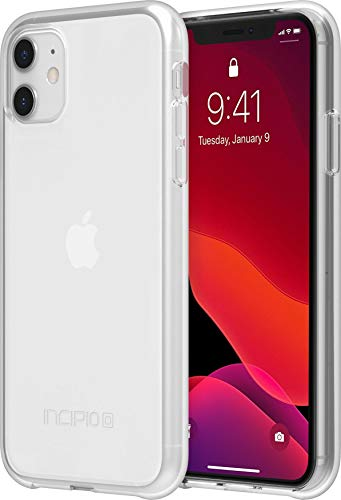 Incipio NGP Pure Translucent Case for Apple iPhone 11 with Flexible Shock-Absorbing Drop-Protection - Clear