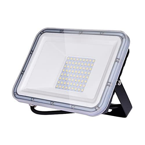 50W LED Foco exterior 4000LM 6500K Impermeable IP67 Proyector Foco LED Luces de Seguridad Led Foco Exterio para Patio, Camino, Jardín, fábrica