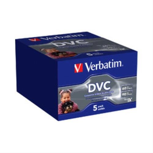 Verbatim 47652 Mini DV Pack de 5 60 mn