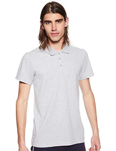 adidas S98750 Polo Homme, Medium Grey Heather, FR (Taille Fabricant : XL)