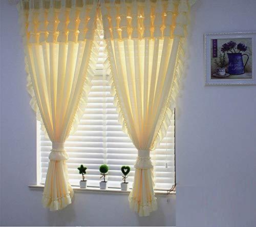 cortinas transparentes blancas dormitorio