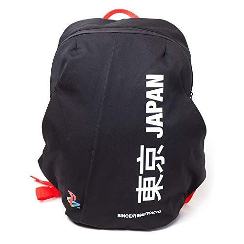 Playstation Japan Since 1994 Tokyo Seamless Functional Backpack Rucksack 41 Centimeters 20 Schwarz (Black)