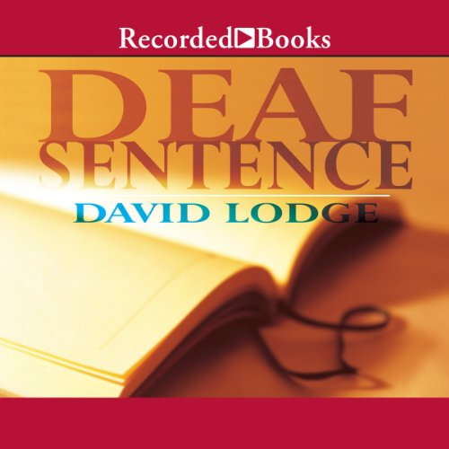 Deaf Sentence audiobook cover art
