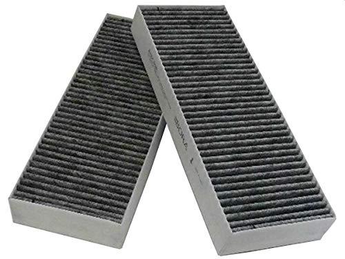 Bora filtros de carbón activado-Set(2 pcs) BAKFS para campana extractora para Bora basic de gatillo BIU/BHU