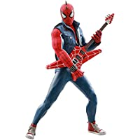 Figura Spider-Punk 30 cm. Marvel's Spiderman. Masterpiece. Escala 1:6. Hot Toys