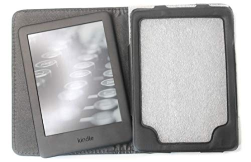 Capa Kindle Paperwhite de 6º Até 8º Geração Fecho Magnético - Preta