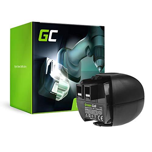 GC® (2.1Ah 4.8V Ni-MH cellen) Accu Batterij Vervangend batterijpakket voor Metabo PowerMaxx 4.8 Elektrisch gereedschap