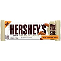 3-Count Hersheys King Size White Creme w/Almonds Candy Bar 2.6oz