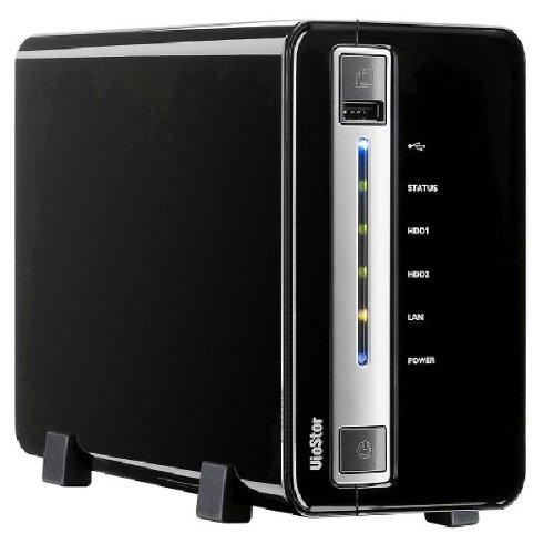 Qnap VS-2008L - Telecamera di sorveglianza IP a 8 canali SATA, colore: Nero