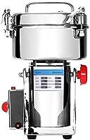 KALE 2000g 電動粉砕機 製粉機 電動ミル コーヒーミル スパイスミル 家庭用穀物製粉機 乾燥食品製粉器 漢方薬 粉末ミル グラインダー 粉砕機 (2000g)