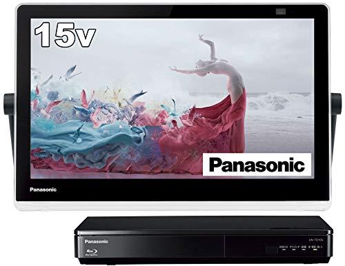 パナソニック 15V型 ポータブル 液晶テレビ プライベート・ビエラ UN-15TD10-K インターネット動画対応 防...