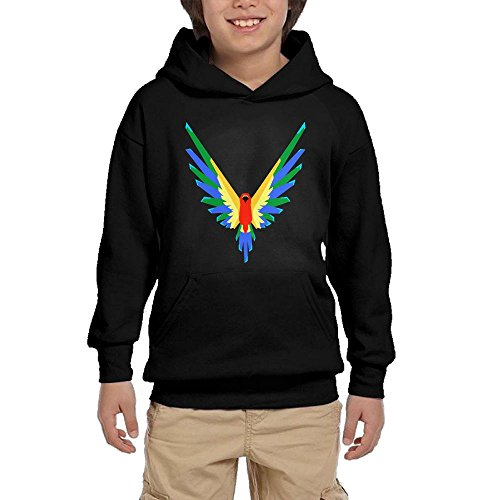TanGroup Youth Customized Hoodie Logan Paul M365 Logo Fashion Parrot Sports Youth Sweater