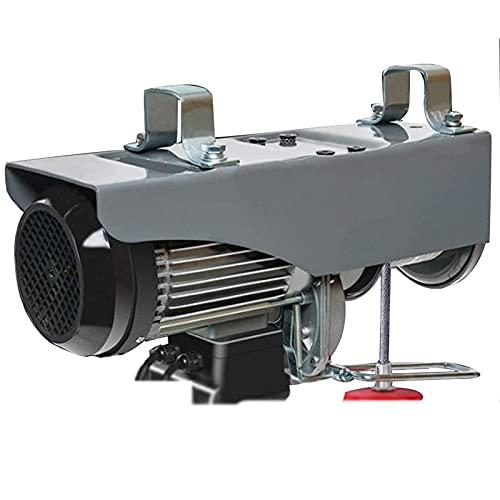 Polipasto eléctrico con carro, grúa elevadora eléctrica de 650 W con...