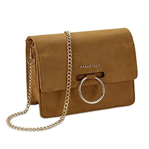 MARCO TOZZI Damen Handtasche 2-2-61005-25, Mustard, 1 EU