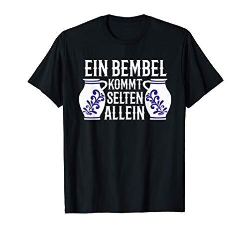 Abbelwoi Krug Mostkrug Bembel Geschenk Frankfurt Äppler T-Shirt