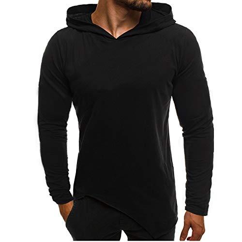 FRAUIT Herren Herbst Winter Jacke Männer Hoodie-Sweatshirt-Spitzen-Bluse Atmungsaktiv Bequem Sport Freizeit 100% Baumwolle S-XL