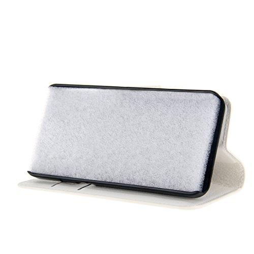 fitmore Huawei Ascend Mate S Hülle, Ultra dünn PU-Leder Strass Diamant Stoßfest Schutzhülle Hülle Glitzer Bling Sparkles Schale Case - 5