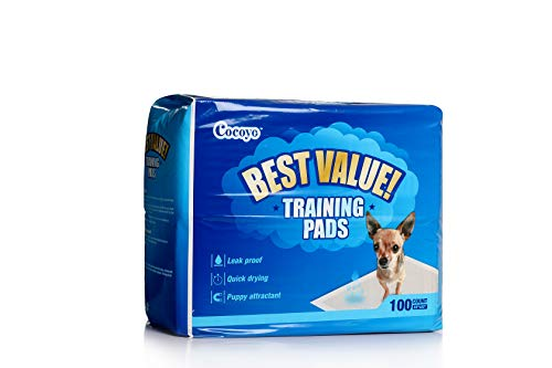 COCOYO Best Value Training Pads, 22' by 22', 100Count