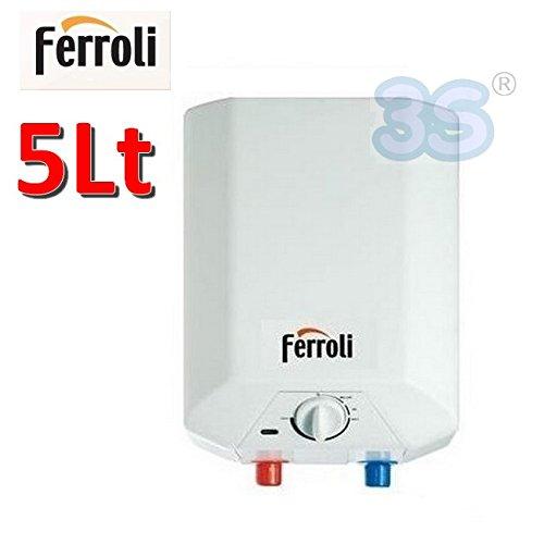 Scalda acqua elettrico 5 Lt scaldabagno - Ferroli NOVO