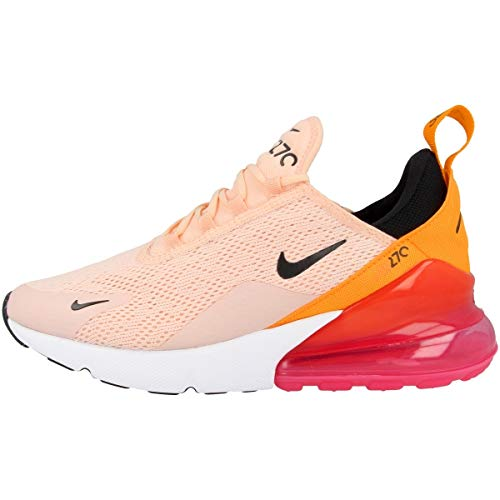 Nike W Air Max 270, Scarpe Running Donna, Washed Coral/Black/Laser Fuchsia 000, 38 EU