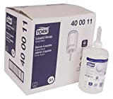 Tork 400011 Premium Extra Mild Non Perfumed Liquid Soap, 1 Liter Bottle, for use with Tork 570020A or 570028A