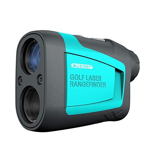 Golf-Rangefinder Messgerät,Entfernungsmesser 600M mit LCD Display, 6X Vergrößerung,für die Golfneigung,Distanz, Geschwindigkeit Messung Handheld mit Flag-Lock HXC