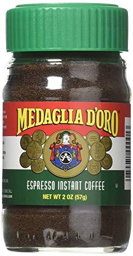 Medaglia D'Oro Espresso Instant Coffee, 2 Oz (3 Pack)