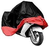 Funda para Moto,KKmoon Cubierta Impermeable para Ciclomotor Scooter Funda Protectora UV Antipolvo(9.4 x 41.3 x 49.2in)