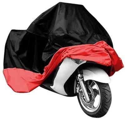 KKmoon Motorrad Fahrrad Moped Roller Abdeckungs Wasserdichter Regen UV Staub Verhinderungs Staubdichte Abdeckung