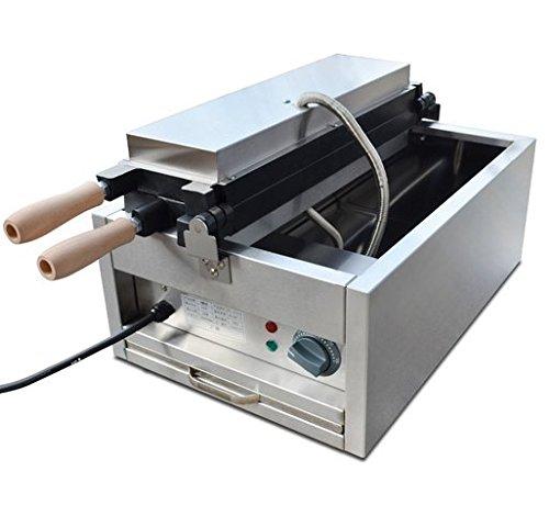 FY-1101B Electric Open Mouth Fish Ice Cream Taiyaki Maker Machine Baker Iron