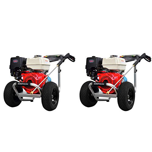 For Sale! Simpson 4,200 PSI 4.0 GPM Honda Engine Gas Pressure Power Washer (2 Pack)