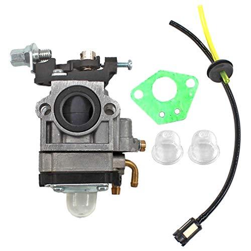 AISEN Vergaser mit Benzinschlauch Filter Satz für Nemaxx MT52 4in1, MT22 2in1 / Hecht 146 BTS Motorsense