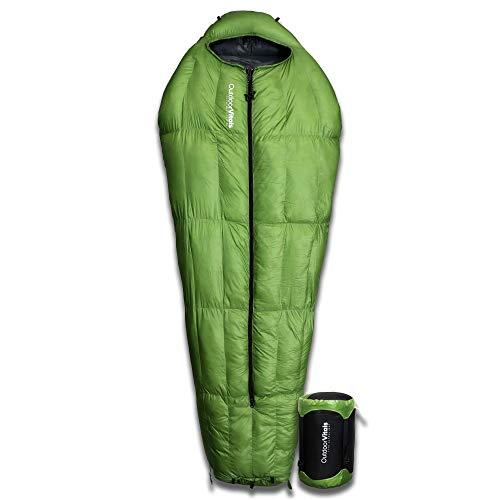 Outdoor Vitals 0 15 30 Degree F LoftTek Hybrid MummyPod 650+ Fill Power Starting Under 3 lbs.Sleeping Bag