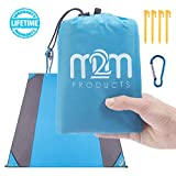 Best Beach Blanket Sand Frees - M2M Outdoor Beach Blanket Sand Proof - Pocket Review