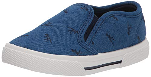 Simple Joys by Carter's Toddler and Little Boys' (1-8 yrs) Casual Slip-On Canvas Shoes