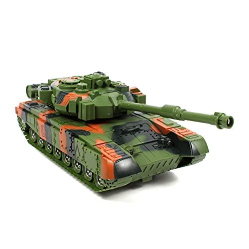 DEORBOB Torreta giratoria Control Remoto multifunción Tanques de Batalla Principales Tanques eléctricos...