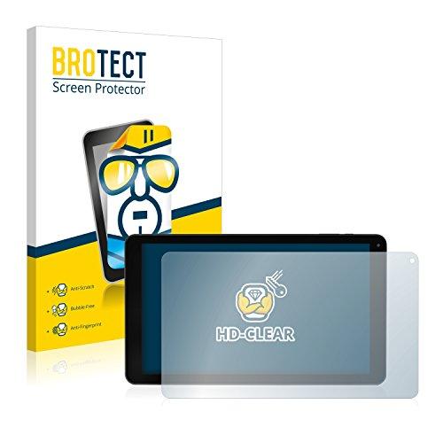 BROTECT Schutzfolie kompatibel mit Blaupunkt Atlantis 1010A (2 Stück) klare Bildschirmschutz-Folie