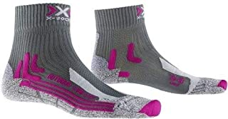 Trek Outdoor Low Cut Lady - Calcetines para Mujer, Mujer, Color Antracita, tamaño FR : XL (Taille Fabricant : XL : 41-42)