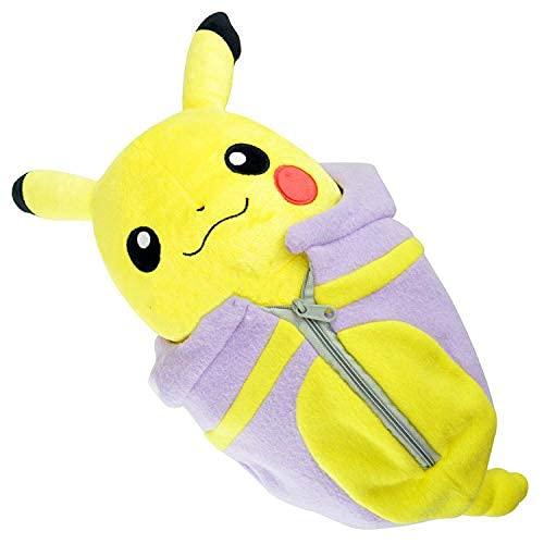 LHAHGLY Pokemon Spiel Pokemon Pokemon Pokeacute; Mon Pokemon Spiel Puppe Spielzeug Schlafsack Pikachu Pokemon Kuscheltier