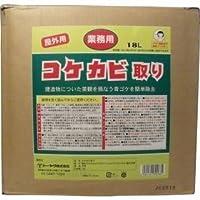 屋外用 コケカビ取り 業務用18Lタイプ 詰替え用【4個セット】