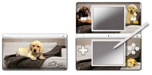 Nintendo DS Lite - Modding Skin -One Beige Dog-