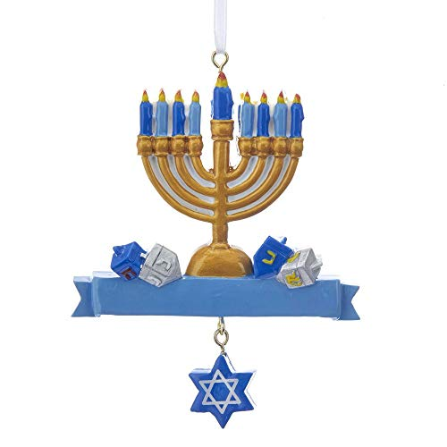 Kurt Adler 4' RESIN HANUKKAH ORNAMENT