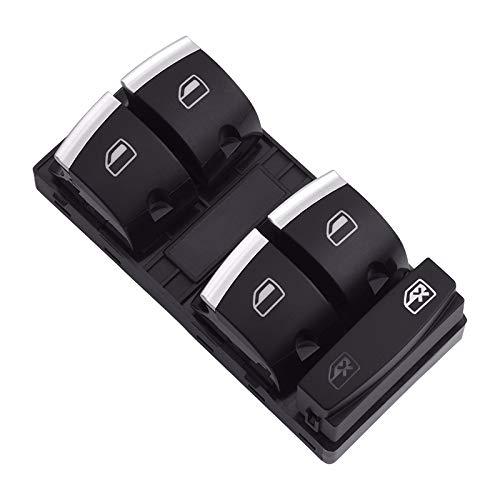 para Audi A3 S3 A6 S6 RS6 4F2 4FH 4F5 C6 Q7 8P1 8PA Interruptor de Control Maestro de Ventana eléctrica Piezas Interiores de Coche eléctrico